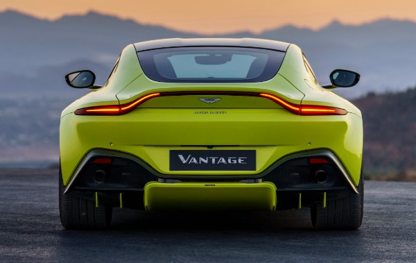 New 2019 Aston Martin Vantage for sale Call for price at Rolls-Royce Motor Cars Greenwich in Greenwich CT 06830 3