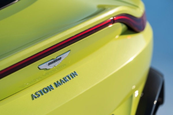 New 2019 Aston Martin Vantage for sale Call for price at Rolls-Royce Motor Cars Greenwich in Greenwich CT 06830 5
