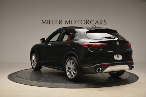 New 2018 Alfa Romeo Stelvio Ti Sport Q4 for sale Sold at Rolls-Royce Motor Cars Greenwich in Greenwich CT 06830 5