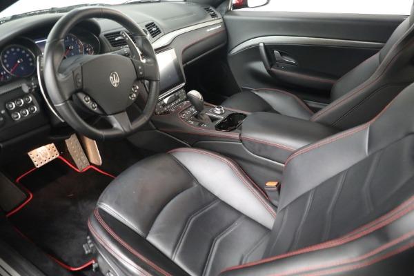 Used 2018 Maserati GranTurismo Sport for sale $94,900 at Rolls-Royce Motor Cars Greenwich in Greenwich CT 06830 13