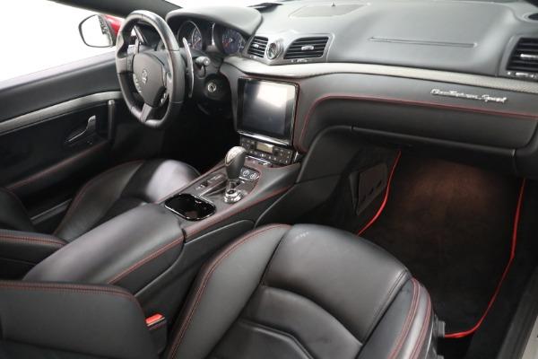Used 2018 Maserati GranTurismo Sport for sale $94,900 at Rolls-Royce Motor Cars Greenwich in Greenwich CT 06830 18