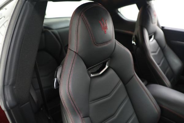 Used 2018 Maserati GranTurismo Sport for sale $94,900 at Rolls-Royce Motor Cars Greenwich in Greenwich CT 06830 20
