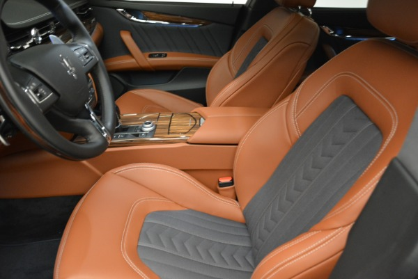 New 2018 Maserati Quattroporte S Q4 GranLusso for sale Sold at Rolls-Royce Motor Cars Greenwich in Greenwich CT 06830 14