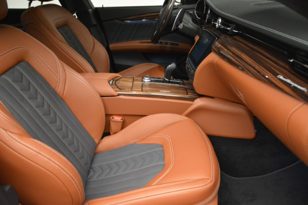 New 2018 Maserati Quattroporte S Q4 GranLusso for sale Sold at Rolls-Royce Motor Cars Greenwich in Greenwich CT 06830 21