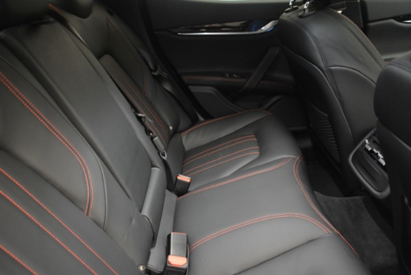 New 2018 Maserati Ghibli S Q4 for sale Sold at Rolls-Royce Motor Cars Greenwich in Greenwich CT 06830 23
