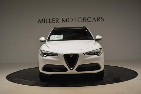 New 2018 Alfa Romeo Stelvio Ti Sport Q4 for sale Sold at Rolls-Royce Motor Cars Greenwich in Greenwich CT 06830 10