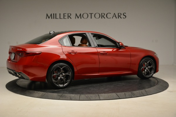 New 2018 Alfa Romeo Giulia Ti Sport Q4 for sale Sold at Rolls-Royce Motor Cars Greenwich in Greenwich CT 06830 8