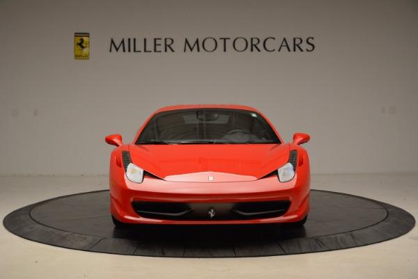 Used 2012 Ferrari 458 Italia for sale Sold at Rolls-Royce Motor Cars Greenwich in Greenwich CT 06830 12