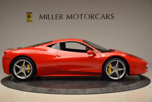 Used 2012 Ferrari 458 Italia for sale Sold at Rolls-Royce Motor Cars Greenwich in Greenwich CT 06830 9