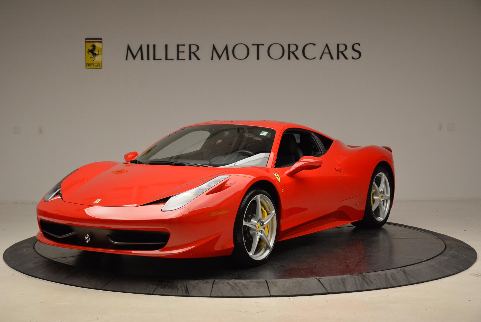 Used 2012 Ferrari 458 Italia for sale Sold at Rolls-Royce Motor Cars Greenwich in Greenwich CT 06830 1