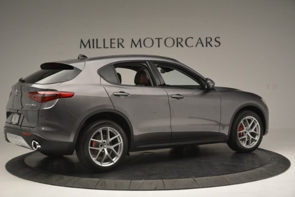 New 2018 Alfa Romeo Stelvio Sport Q4 for sale Sold at Rolls-Royce Motor Cars Greenwich in Greenwich CT 06830 8