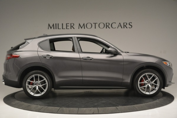 New 2018 Alfa Romeo Stelvio Sport Q4 for sale Sold at Rolls-Royce Motor Cars Greenwich in Greenwich CT 06830 9