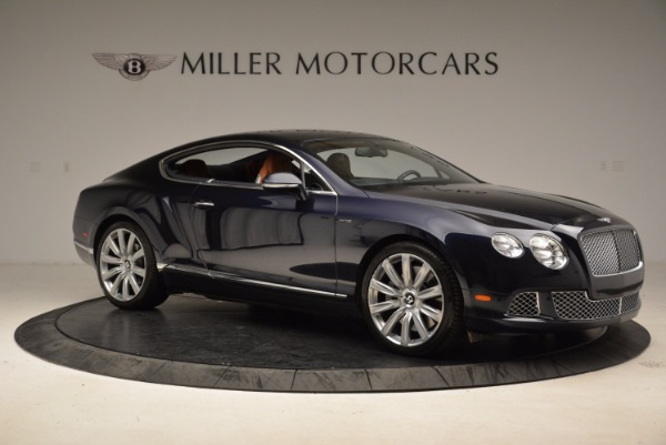 Used 2014 Bentley Continental GT W12 for sale Sold at Rolls-Royce Motor Cars Greenwich in Greenwich CT 06830 10