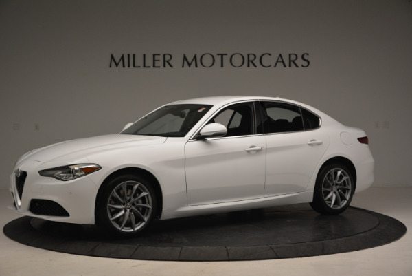 New 2018 Alfa Romeo Giulia Q4 for sale Sold at Rolls-Royce Motor Cars Greenwich in Greenwich CT 06830 2