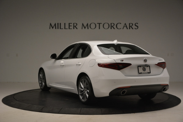 New 2018 Alfa Romeo Giulia Q4 for sale Sold at Rolls-Royce Motor Cars Greenwich in Greenwich CT 06830 5
