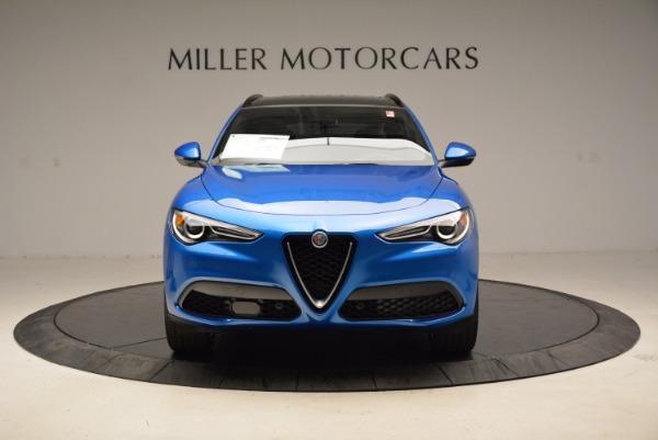 New 2018 Alfa Romeo Stelvio Ti Sport Q4 for sale Sold at Rolls-Royce Motor Cars Greenwich in Greenwich CT 06830 12
