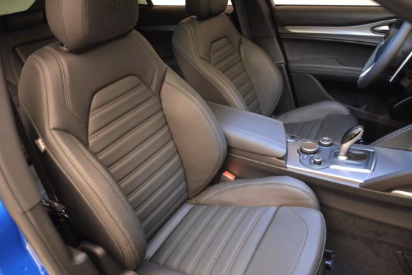 New 2018 Alfa Romeo Stelvio Ti Sport Q4 for sale Sold at Rolls-Royce Motor Cars Greenwich in Greenwich CT 06830 21