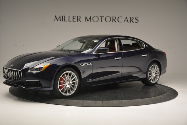 New 2018 Maserati Quattroporte S Q4 GranLusso for sale Sold at Rolls-Royce Motor Cars Greenwich in Greenwich CT 06830 2