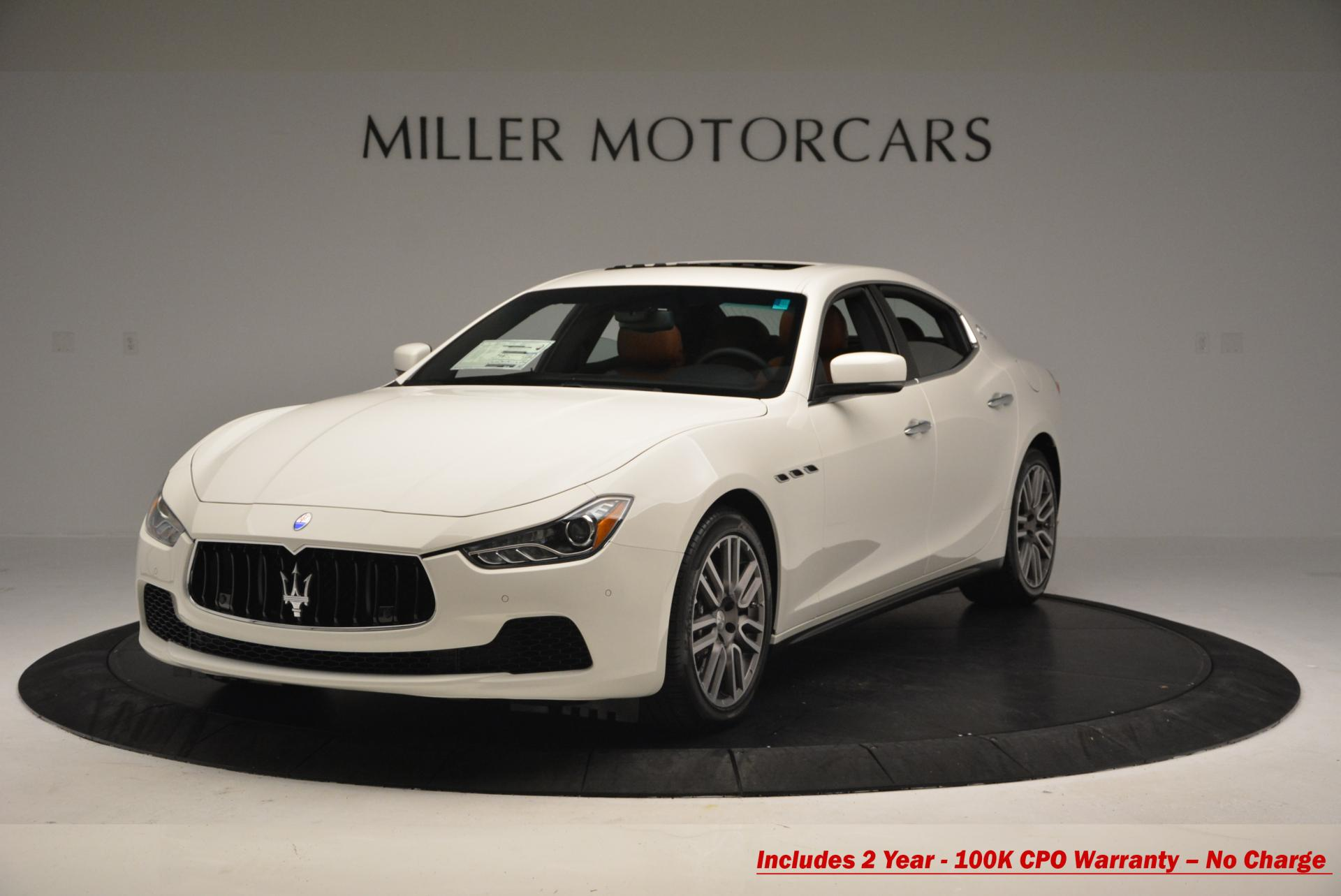 Used 2016 Maserati Ghibli S Q4 for sale Sold at Rolls-Royce Motor Cars Greenwich in Greenwich CT 06830 1