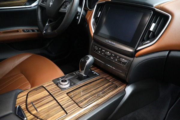 Used 2018 Maserati Ghibli S Q4 for sale Sold at Rolls-Royce Motor Cars Greenwich in Greenwich CT 06830 25