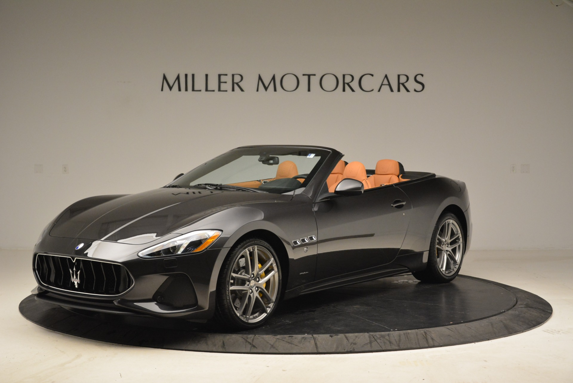 Used 2018 Maserati GranTurismo Sport Convertible for sale Sold at Rolls-Royce Motor Cars Greenwich in Greenwich CT 06830 1