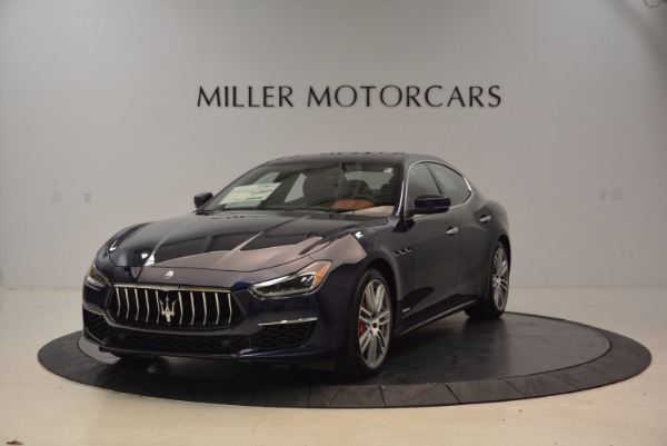 New 2018 Maserati Ghibli S Q4 GranLusso for sale Sold at Rolls-Royce Motor Cars Greenwich in Greenwich CT 06830 1