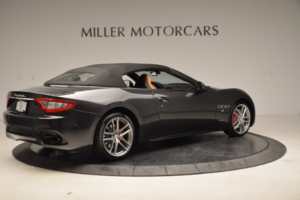 New 2018 Maserati GranTurismo Sport Convertible for sale Sold at Rolls-Royce Motor Cars Greenwich in Greenwich CT 06830 8