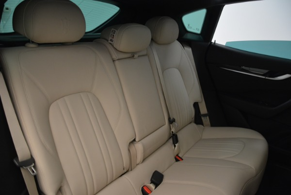 New 2017 Maserati Levante Q4 for sale Sold at Rolls-Royce Motor Cars Greenwich in Greenwich CT 06830 26