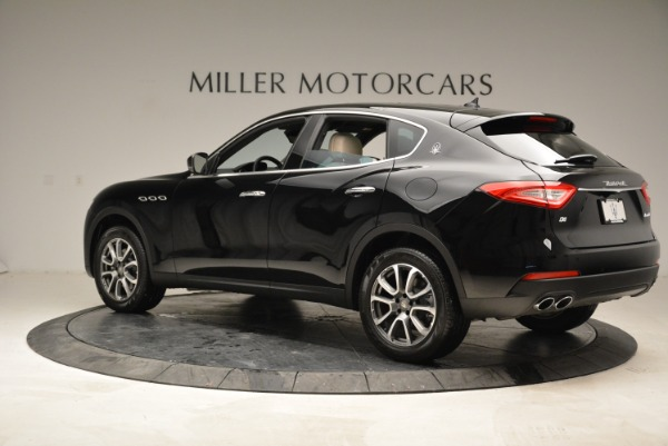 New 2017 Maserati Levante Q4 for sale Sold at Rolls-Royce Motor Cars Greenwich in Greenwich CT 06830 4