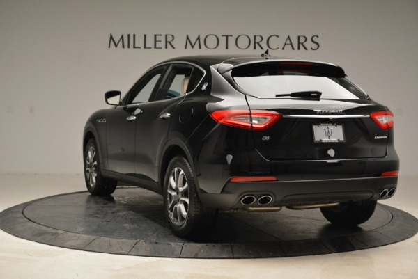 New 2017 Maserati Levante Q4 for sale Sold at Rolls-Royce Motor Cars Greenwich in Greenwich CT 06830 5