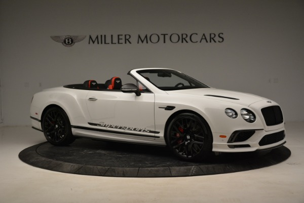 Used 2018 Bentley Continental GTC Supersports Convertible for sale Sold at Rolls-Royce Motor Cars Greenwich in Greenwich CT 06830 10