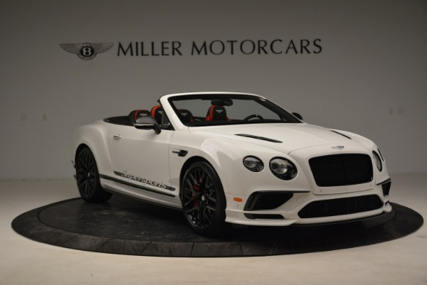 Used 2018 Bentley Continental GTC Supersports Convertible for sale Sold at Rolls-Royce Motor Cars Greenwich in Greenwich CT 06830 11