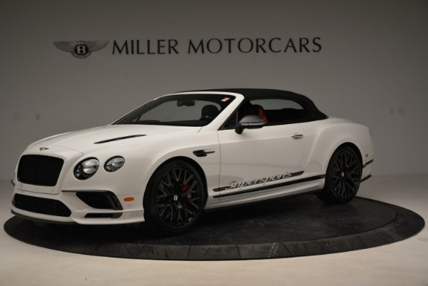 Used 2018 Bentley Continental GTC Supersports Convertible for sale Sold at Rolls-Royce Motor Cars Greenwich in Greenwich CT 06830 13
