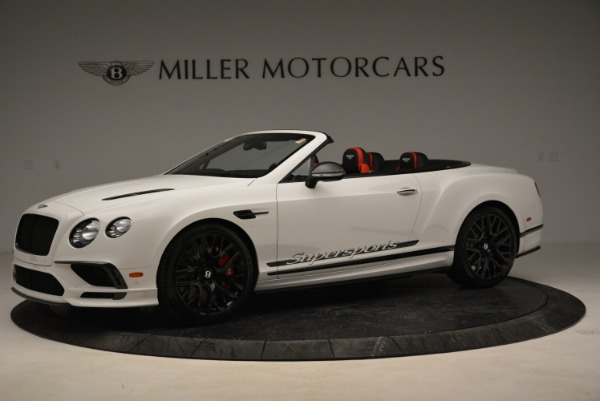 Used 2018 Bentley Continental GTC Supersports Convertible for sale Sold at Rolls-Royce Motor Cars Greenwich in Greenwich CT 06830 2