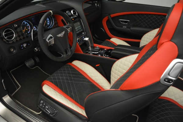 Used 2018 Bentley Continental GTC Supersports Convertible for sale Sold at Rolls-Royce Motor Cars Greenwich in Greenwich CT 06830 26