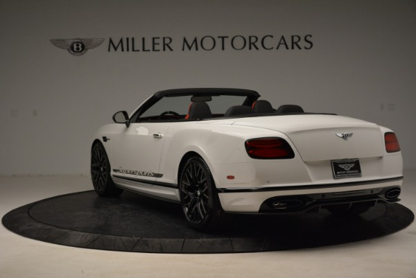Used 2018 Bentley Continental GTC Supersports Convertible for sale Sold at Rolls-Royce Motor Cars Greenwich in Greenwich CT 06830 5