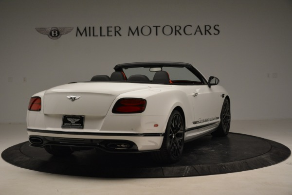 Used 2018 Bentley Continental GTC Supersports Convertible for sale Sold at Rolls-Royce Motor Cars Greenwich in Greenwich CT 06830 7