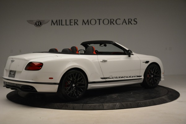 Used 2018 Bentley Continental GTC Supersports Convertible for sale Sold at Rolls-Royce Motor Cars Greenwich in Greenwich CT 06830 8
