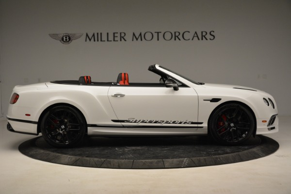 Used 2018 Bentley Continental GTC Supersports Convertible for sale Sold at Rolls-Royce Motor Cars Greenwich in Greenwich CT 06830 9