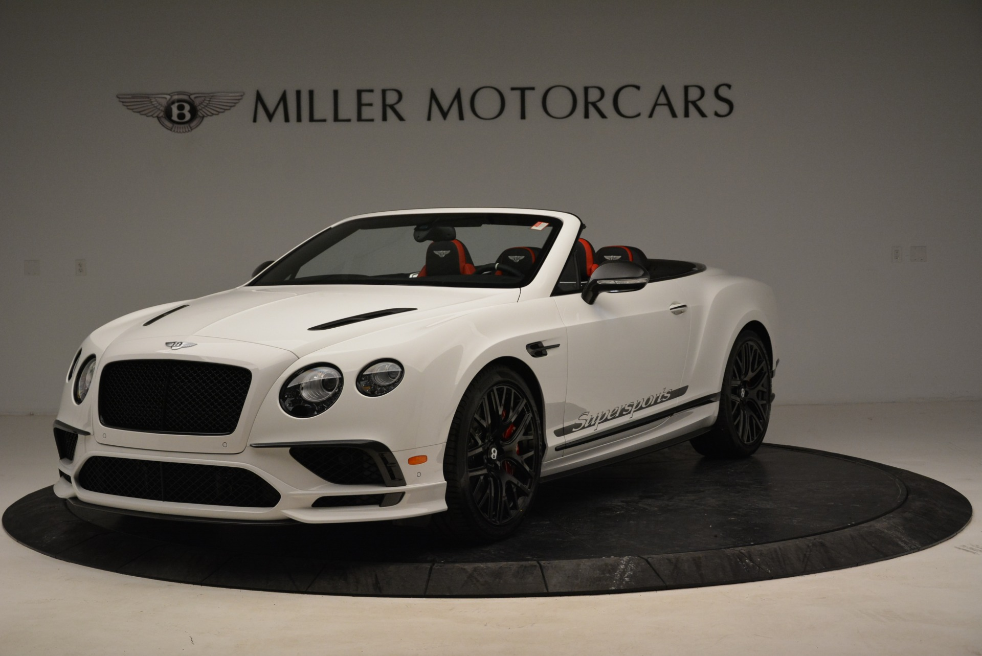 Used 2018 Bentley Continental GTC Supersports Convertible for sale Sold at Rolls-Royce Motor Cars Greenwich in Greenwich CT 06830 1