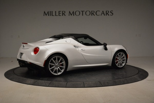 New 2018 Alfa Romeo 4C Spider for sale Sold at Rolls-Royce Motor Cars Greenwich in Greenwich CT 06830 11