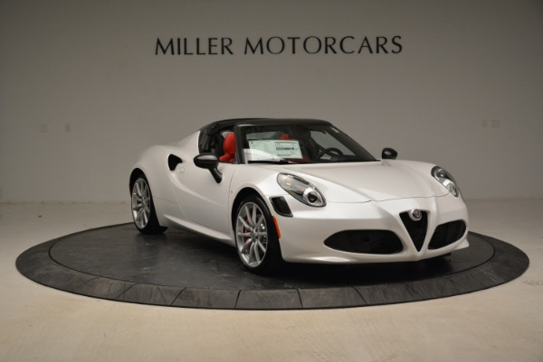 New 2018 Alfa Romeo 4C Spider for sale Sold at Rolls-Royce Motor Cars Greenwich in Greenwich CT 06830 17