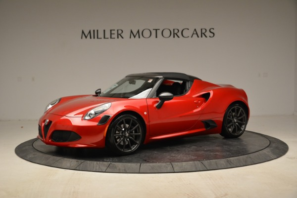 New 2018 Alfa Romeo 4C Spider for sale Sold at Rolls-Royce Motor Cars Greenwich in Greenwich CT 06830 3