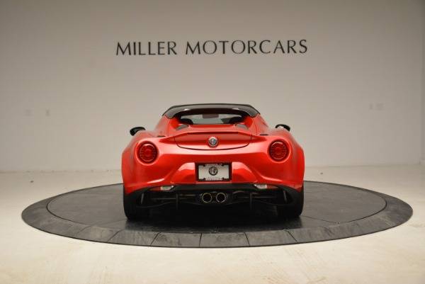 New 2018 Alfa Romeo 4C Spider for sale Sold at Rolls-Royce Motor Cars Greenwich in Greenwich CT 06830 9