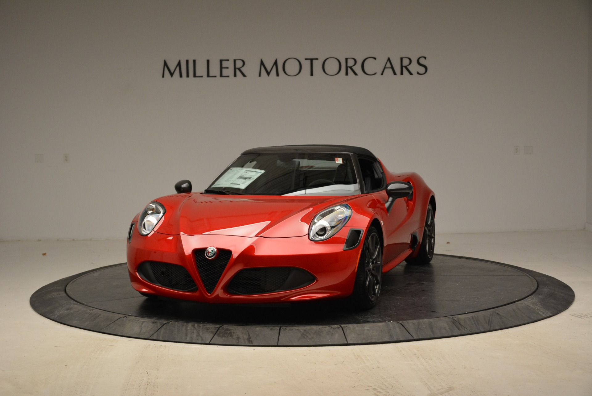 New 2018 Alfa Romeo 4C Spider for sale Sold at Rolls-Royce Motor Cars Greenwich in Greenwich CT 06830 1