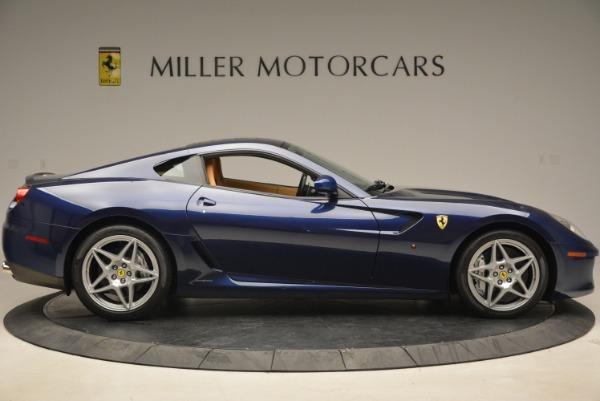 Used 2007 Ferrari 599 GTB Fiorano GTB Fiorano F1 for sale Sold at Rolls-Royce Motor Cars Greenwich in Greenwich CT 06830 9