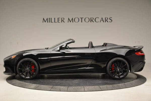Used 2018 Aston Martin Vanquish S Convertible for sale Sold at Rolls-Royce Motor Cars Greenwich in Greenwich CT 06830 3