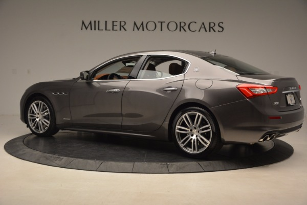 New 2018 Maserati Ghibli S Q4 GranLusso for sale Sold at Rolls-Royce Motor Cars Greenwich in Greenwich CT 06830 4