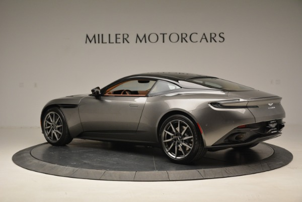 Used 2018 Aston Martin DB11 V12 for sale $169,990 at Rolls-Royce Motor Cars Greenwich in Greenwich CT 06830 4
