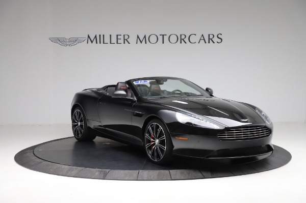 Used 2015 Aston Martin DB9 Convertible for sale Sold at Rolls-Royce Motor Cars Greenwich in Greenwich CT 06830 10